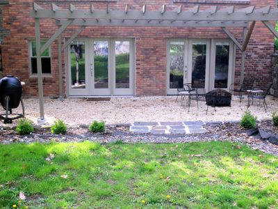 Photo for New Paltz Country Charmer: Sunny, Private, Large w outside Patio, Pergola & BBQ!