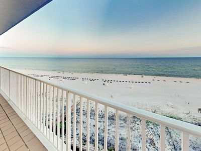 Photo for Beachfront All-Suite 3BR Corner-Unit w/ Balcony, Pool & Hot Tub