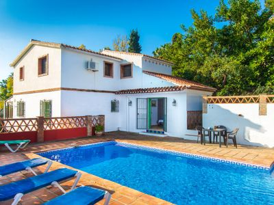 Photo for Nerja Holiday Home, Sleeps 8 with Pool, Air Con and Free WiFi
