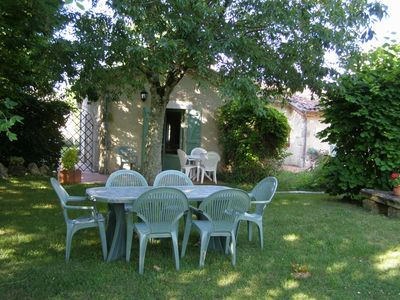Photo for A cottage on one level in a Gascon property with a 6000m² park.