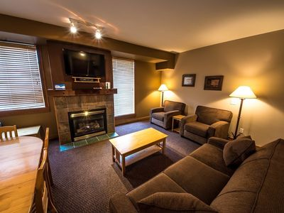Photo for #108: 2 Bedroom + Den in Chateau Big White
