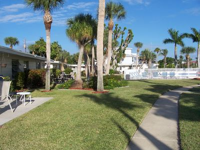 Photo for Waterfront Ground Level Condo Only Steps From The Beach