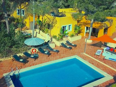 Photo for This 3-bedroom villa for up to 6 guests is located in San Jose and has a private swimming pool and W