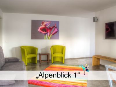 Photo for High-quality new building, handicapped friendly, large terrace, view of the Alps