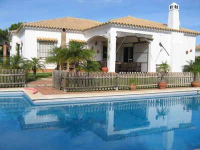 Photo for Roche, conil, Villa,Private Pool, WIFI, Amazing Beaches