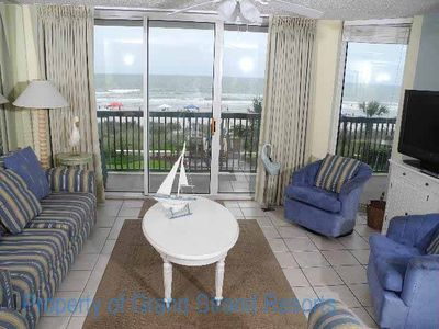 Photo for Ashworth Unit 207! Stunning Ocean Front Condo! Book your get away today!