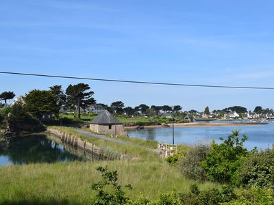 Photo for Apartment SEAVIEW overlooking the port of Ploumanac'h in Perros-Guirec