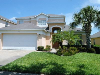 Photo for Near Disney World - Emerald Island Resort - Feature Packed Contemporary 5 Beds 4 Baths Villa - 3 Miles To Disney