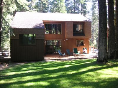 Photo for Beautiful  Knotty Pine on Golf Course at Lake Almanor West