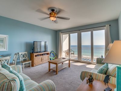 Photo for Ocean-view condo with shared pools & hot tub near golf, beaches, & more!