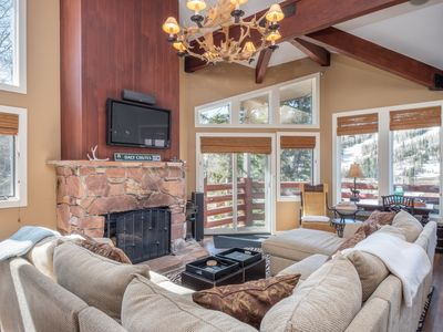 Photo for DEER VALLEY - WALK to SILVER LAKE Lifts & Dining - PRIVATE HOT TUB W/VIEWS