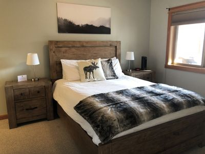 Photo for Family getaway in a spacious 3 bdrm mountain view condo in downtown Canmore