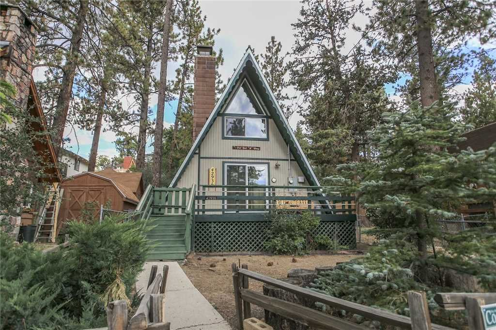 The Getaway Gorgeous A Frame Chalet in Moonridge. Walking Distance ...