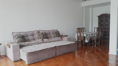 Photo for 3 front rooms in Ipanema, sleeps 10 people.