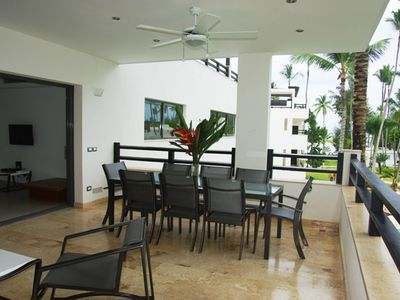 Photo for Beachfront Luxury And Modern Pent-house With Rooftop Terrace At Aligio