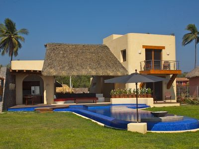 Photo for A  Luxury Villa on Troncones Beach