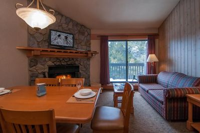 After a day outside, return to this mountain retreat that has everything you need!