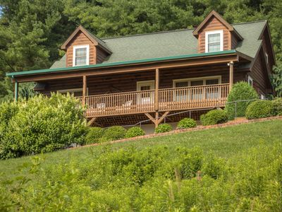 Photo for Brookshire Cabin Nestled in the Blue Ridge Mountains