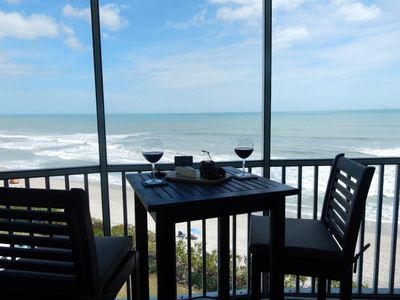 Photo for BEACH FRONT CONDO WITH SPECTACULAR VIEWS! LUXURIOUSLY RENOVATED 2/2 - 1300 SF