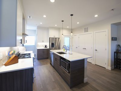 Photo for Luxurious RiNo Townhome. Rooftop Deck & Parking