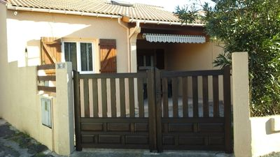 Photo for Rental villa 6 people in Valras-Plage, near downtown and beach