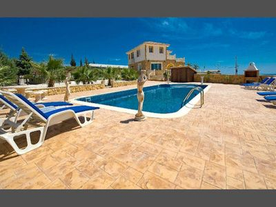 Photo for Villa Panorama is a unique and magnificent hilltop property with exceptional surrounding sea views,