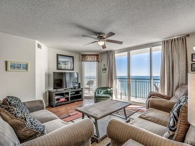 Photo for Beautiful Oceanfront Condo, Recliner, Lazy River | Windy Hill Dunes - 1402
