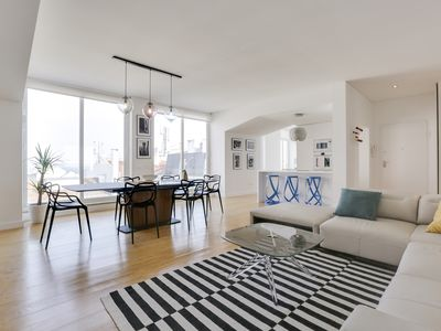 Photo for Central Lisbon penthouse with rooftop & and 360º view