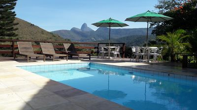 Photo for BEAUTIFUL HOUSE IN ITAIPAVA with a beautiful view, FIVE MINUTES CENTER.