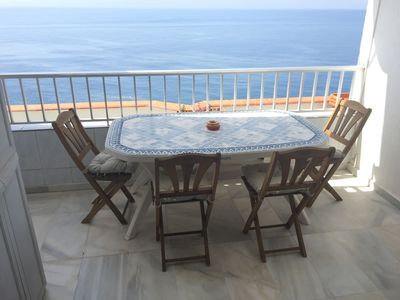 Photo for Andalucia sea view house with pool sleeps 7