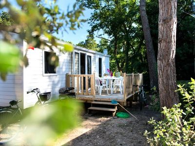 Photo for Camping Village Siblu Domaine de Litteau **** - Mobil Home Elegance 3 Rooms 4/6 People