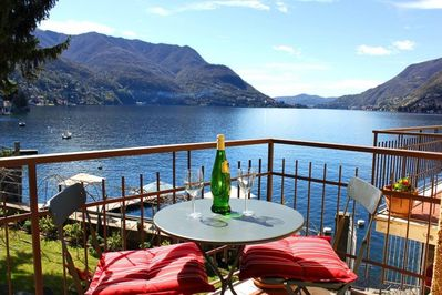 Spectacular Lake Como views from all master bedrooms, living rooms and balconies