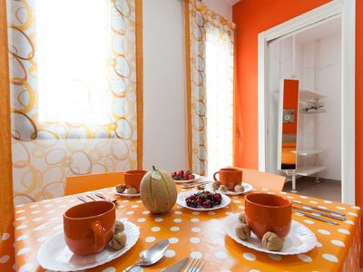 Photo for HOLIDAY HOUSE OF GOLFO APARTMENT ORANGE 4 PAX wi-fi solarium relax