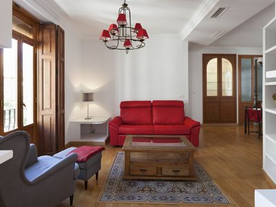 Photo for Torres de Serranos, 2 Bedrooms,4 P+balcony in Ciutat Vella, in downtown Valencia
