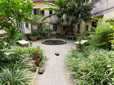 Photo for Loft Garden at Colosseum | Your private garden just few steps from the Colosseum