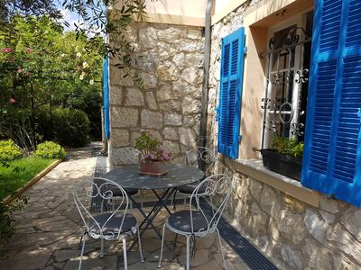 Photo for Magnificent Provencal style villa 2 steps from the old town of Antibes
