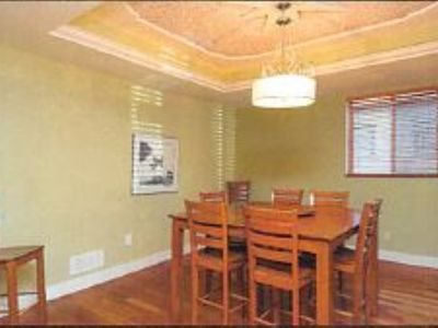 Photo for Newer 5 bedroom house less than half a block from lake, sleep 10 to 12