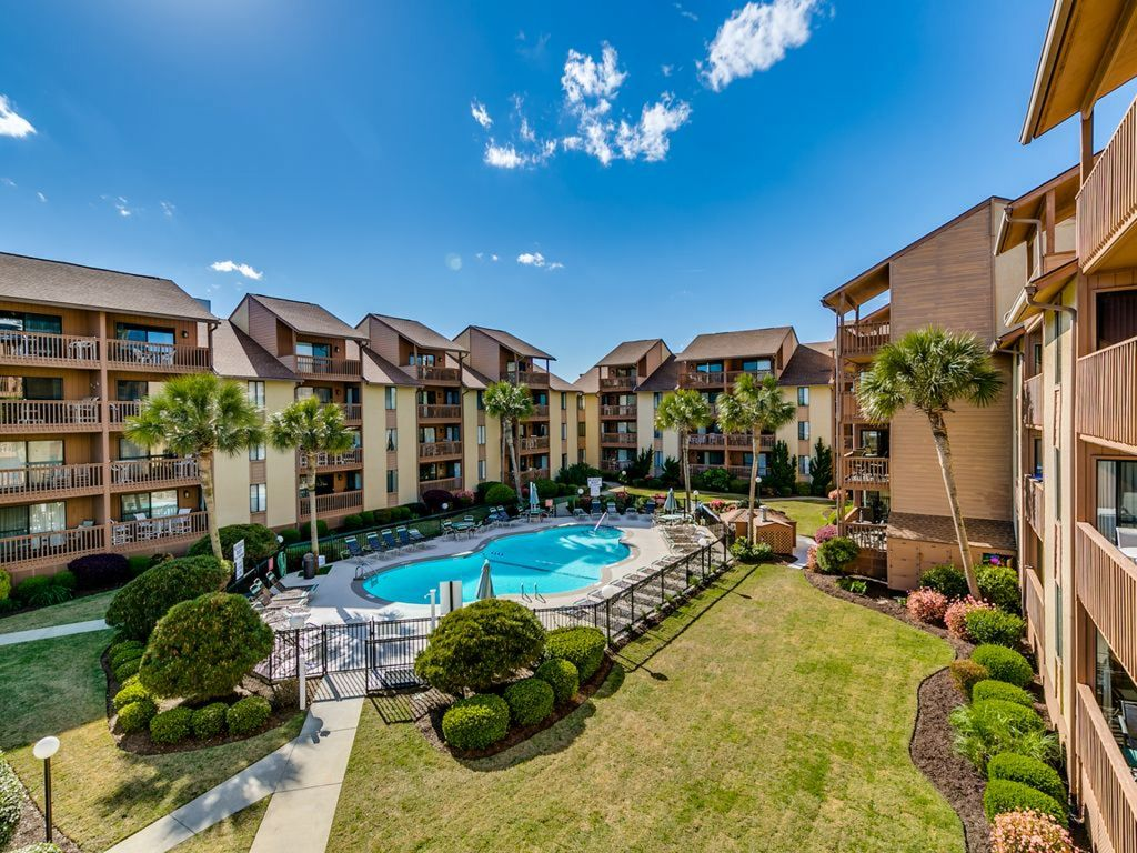 Quaint Oceanfront 3 Bedroom Condo With Private Pool At Anchorage 2 Myrtle Beach Myrtle Beach