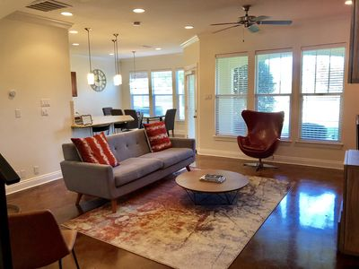 Photo for Gated Spacious Modern Condo 3 BR/3.5 Bathrooms located minutes from LSU campus.