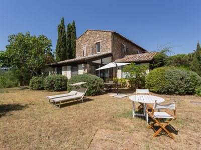 Photo for Huge Tuscany Villa for Family and Friends in Val d'Orcia, Montepulciano, Pienza