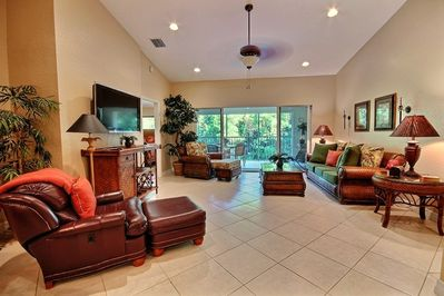 Another view of main floor living area
