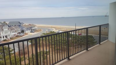 Photo for LINENS & DAILY ACTIVITIES INCLUDED!  OCEANFRONT/BOARDWALK BUILDING W/ROOFTOP POOL. Enjoy wonderful views from this nicely renovated unit.