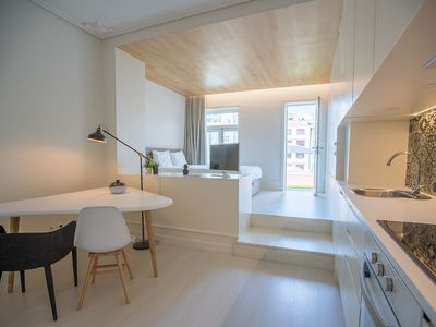 Photo for Stylish Studio and Terrace apartment