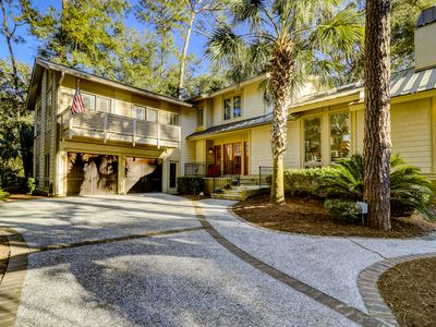 Photo for 11 Bald Eagle Road~ Beautiful 2nd Row Ocean Six Bedroom Sea Pines Home with P