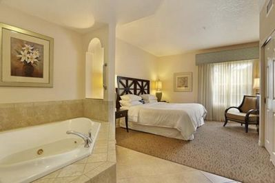 Master bedroom and bathe/spa