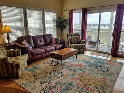 Photo for Gorgeous 3 Bdrm at Water's Edge With Amazing View! Walk Everywhere!