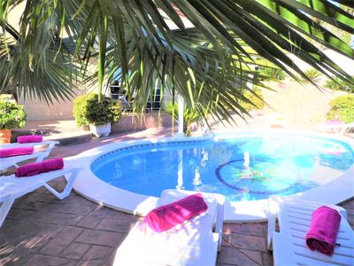 Photo for Villa with private pool, 7 bedrooms, 3 bathrooms and wifi