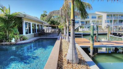 Photo for Enjoy Sunshine and Siestas in Relaxing Waterfront Home with Pool!