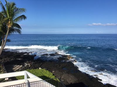 Photo for Gorgeous one bedroom, two bathroom condo with ocean views, Royal Sea Cliff #314 (1), in Kailua-Kona