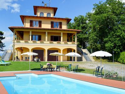 Photo for Vacation home Villa Le Castagne  in San Baronto - Larciano (PT), Florence and surroundings - 16 persons, 7 bedrooms